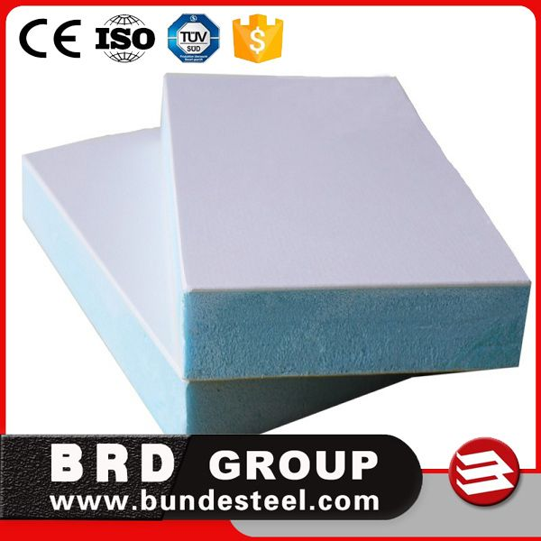 FRP 40kg/m3 PU Polyurethane Sandwich Panel for truck body