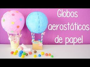 Cómo elaborar un globo aerostático casero - http://ayudaparamanualidades.com/globo-aerostatico-casero_3343/