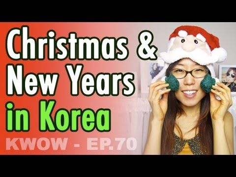 "Do Koreans Celebrate Christmas? // ""Merry Christmas"" in Korean (KWOW #70..."