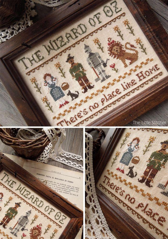 The Wizard of Oz PDF Digital Cross Stitch by LittleStitcherShop, $11.50