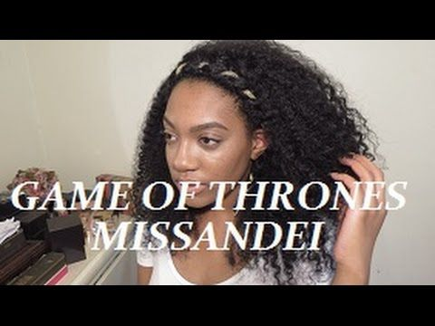 Game Of Thrones-Missandei twisted headband - YouTube