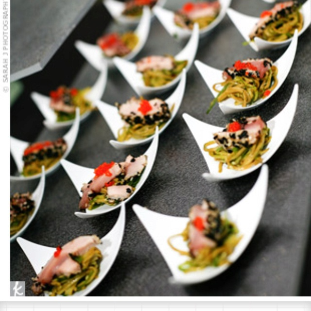 Asian Wedding Food Caterers: For A Modern Wedding: Catering Ideas