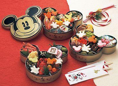 キャラクターおせち - anime character osechi ryori (Japanese style new year traditional food) - Mickey Mouse by FromJapanWithLove Japanese Kawaii Stationery, via Flickr