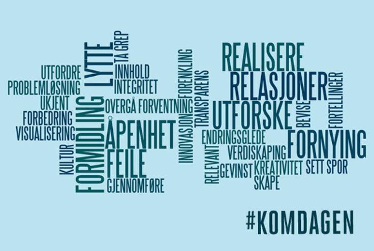 SKAP INNOVASJON MED KOMMUNIKASJON!  Kommunikasjonsdagen, Det Norske Teatret 26.mars  Jeg er prosjektleder, kontakt meg hvis det er noe du lurer på :)  #komdagen #komforeningen #kommunikasjon
