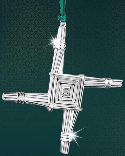 St brigid's cross, newbridge silver - irish christmas