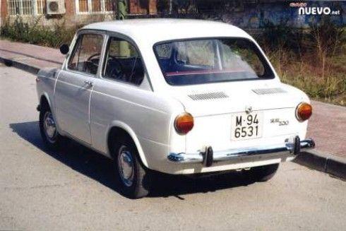 seat 850. El primer coche que tuvieron mis padres.