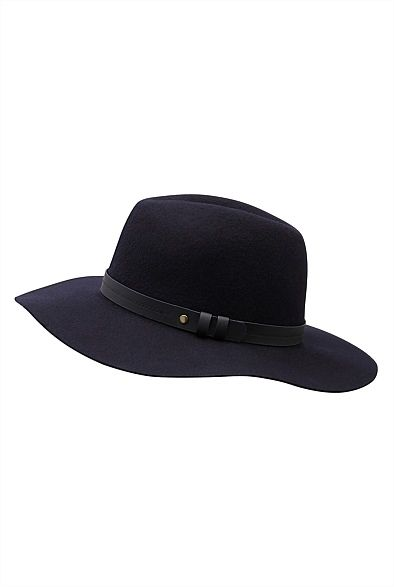 Fedora hats are a must have this winter! Check out the Stud Trim Fedora found in the Witchery winter collection 2015. An affordable accessory to update your winter wardrobe.