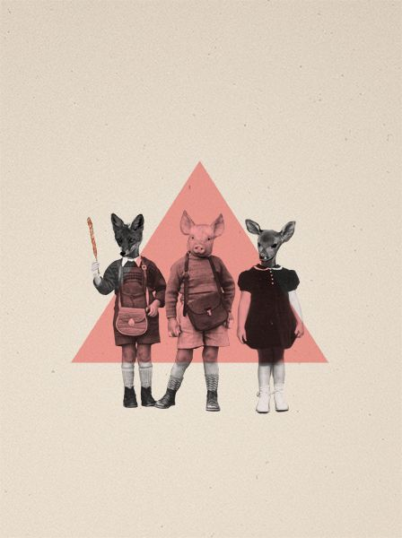 T T T T by Carolin Wanitzek, via Behance