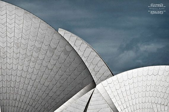 Sydney Opera House I took this photo while on holidays on an overcast windy day in August ©Jessica Rose Photography