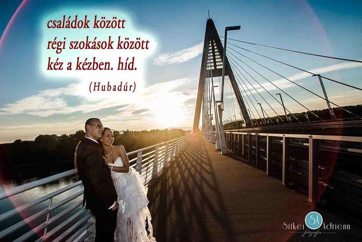 Esküvői haiku (Hubaiku) /A haikut írta: Street Gábor Huba meglepetésdalos ceremóniamester; Fotó: Sitkei Adrienn/