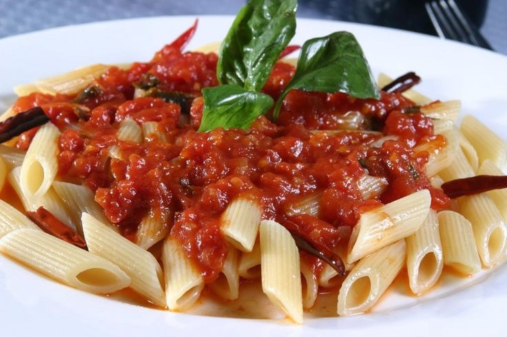 Easy Spicy Penne Arrabbiata Sauce Recipe