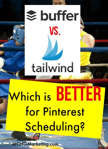 Buffer versus Tailwind. Which Pinterest scheduling tool is better for your business? Which one has better features and benefits and provides more bang for your buck? Find out in this detailed analysis.
