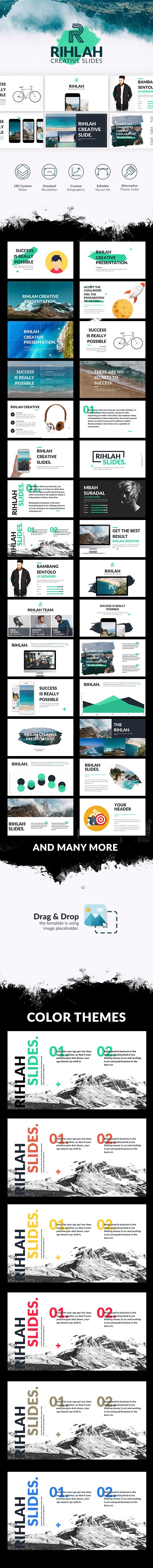 Rihlah | Powerpoint Template on Behance