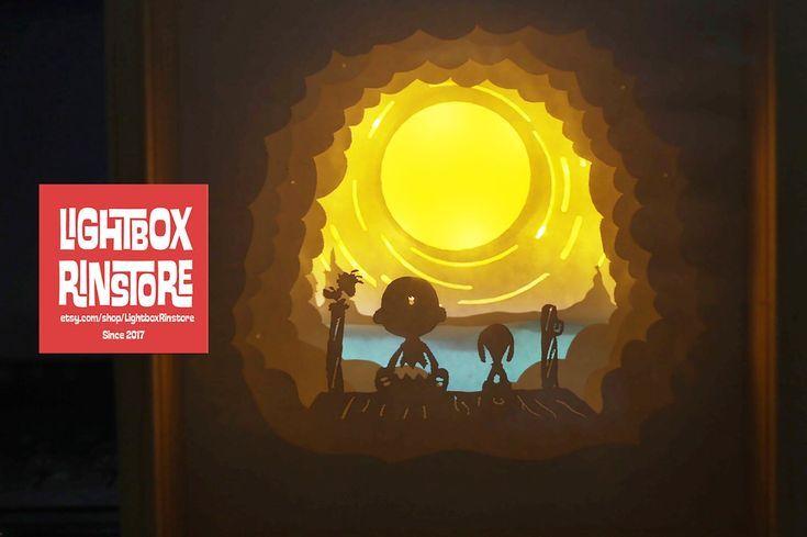 Bogo Paper Lightbox Snoopy My Best Friend Forever Bogo Friend Lightbox Paper Snoopy 3d Shadow Box Box Template 3d Paper