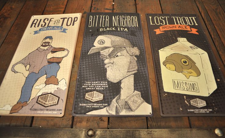 Gaslight's tin plates design #beer #branding
