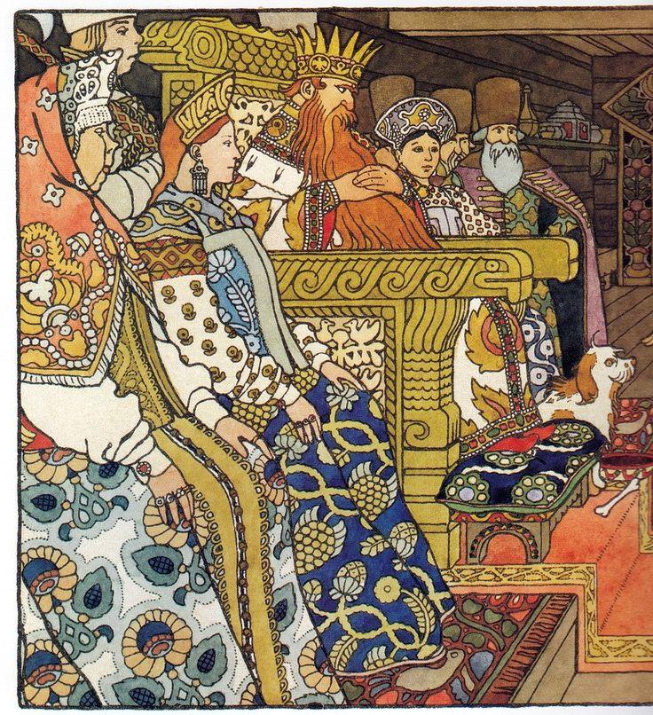 Билибин иллюстрации к сказкам в картинках