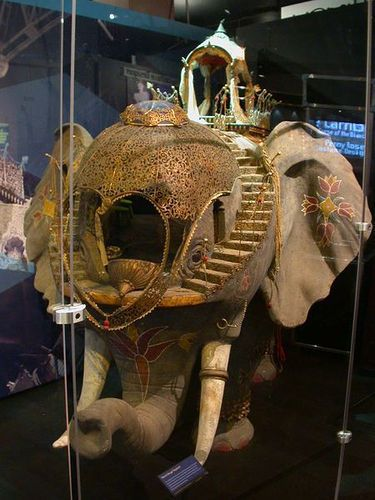 The elephant from the Moulin Rouge movie. I wish I could live inside there.