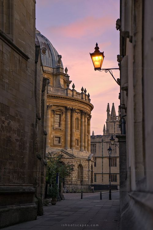 Early morning, Oxford, England   by ren hui yoong photography