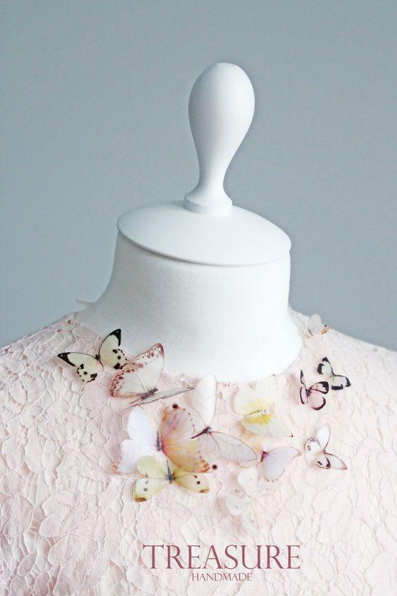 Collar de mariposa de Prom prom collar collar de por TreasureAM