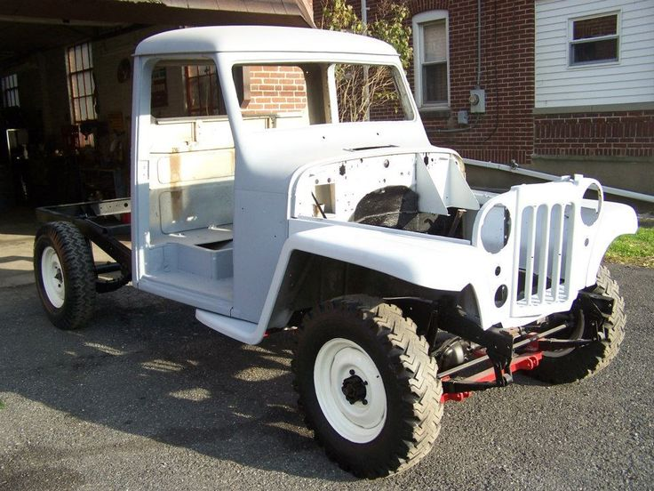 1961 Willys Jeep/Pickup | Auto; Restoration; Vintage; Willys; Pickup; 1961 Willys Jeep/Pickup