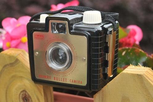 Vintage Kodak Brownie Bullet by highplacesphotos on Etsy, $29.99