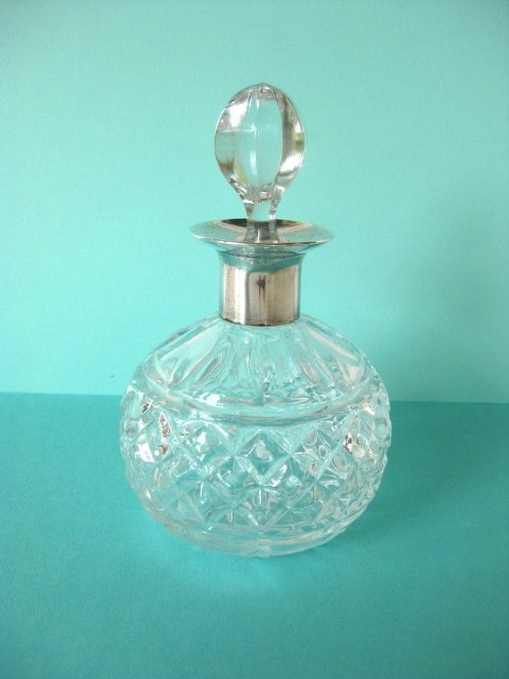 Vintage glass bottle bedroom decor dressing table paris for Bedroom gifts for her