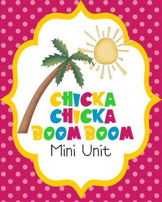 Chicka Chicka Boom Boom: Chicka Chicka, Center Ideas, Boom Boom, Classroom Theme, Teacher Notebook, Chicka Boom, Minis United, Kindergarten Theme, Pixie Chick