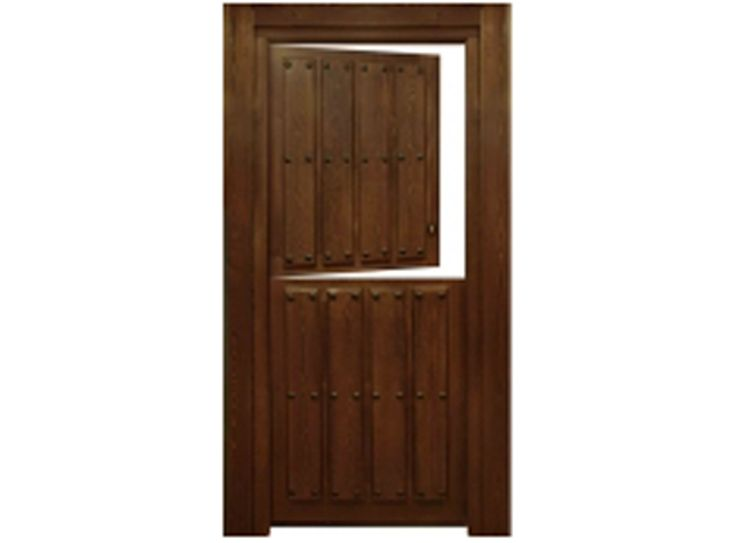 17 best images about puerta de acceso on pinterest for Puertas dobles de madera exterior