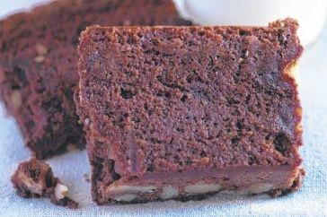 Chocolate brownie by Matt Preston