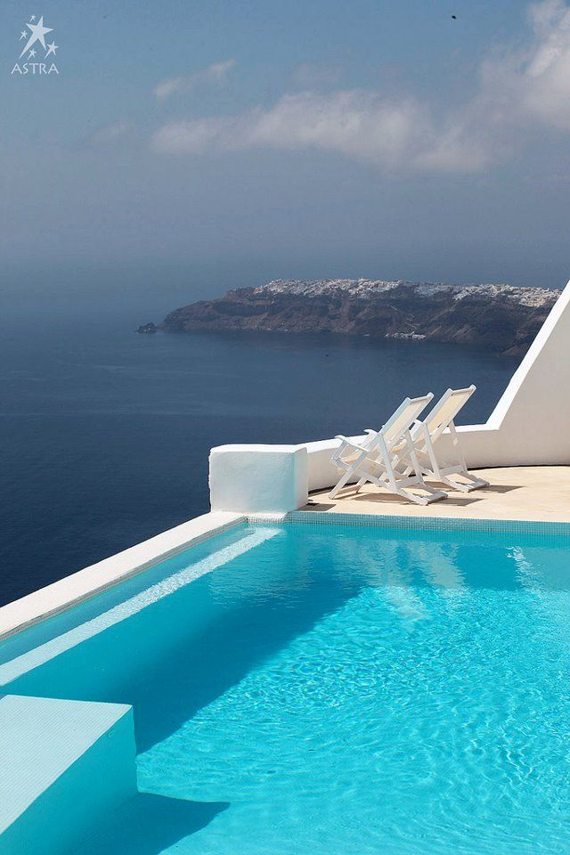 Just the two of us...in the unique setting of Astra suites in Santorini, Greece!