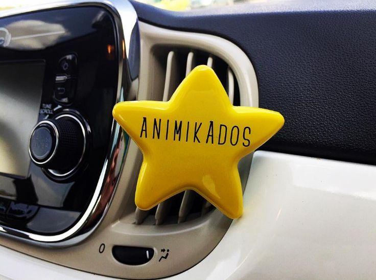 Disfrutando de unos días de descanso...qué felicidad! ☺️ 👋  #animikados #aromasparaelalma #coche #car #ambientador #diffuser #estrella #star #huelogenial #blogger #bloggerspain #aromas #carstyle #cardecor #regalo #regalosoriginales