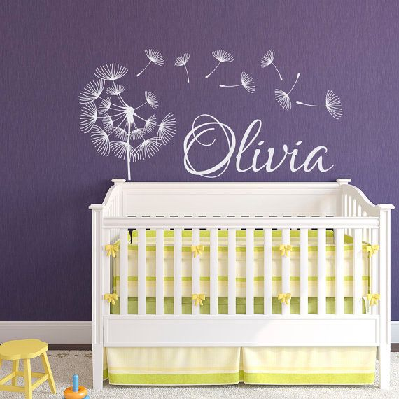 Best Personalized Name Decor Images On Pinterest Nursery Wall - Custom vinyl wall decals nursery