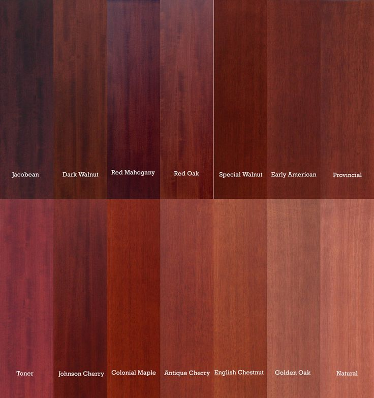 Red Mahogany Vs Red Oak Color Comparison