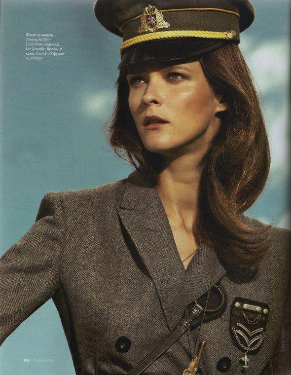 Съёмка: Кармен Касс для российского Elle. Изображение №7.