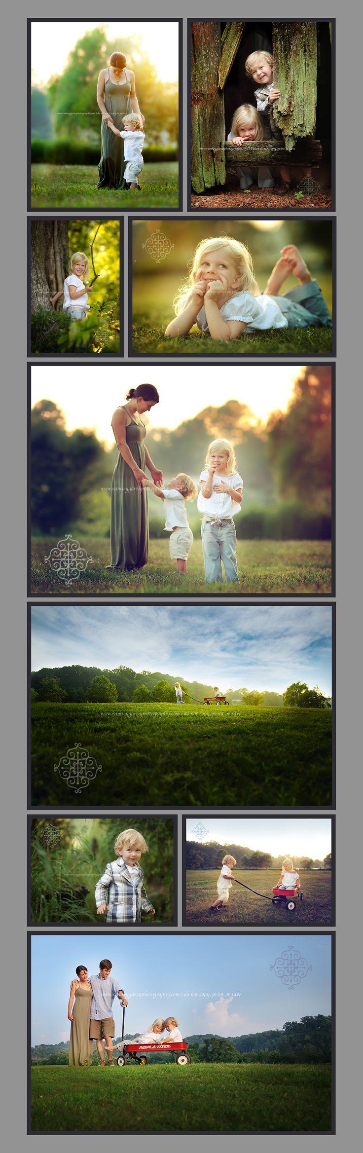Beautiful family photos. Love the lighting
