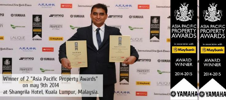 """Winner Of 2 """"ASIA PACIFIC PROPERTY AWARDS"""" Mana Projects"""