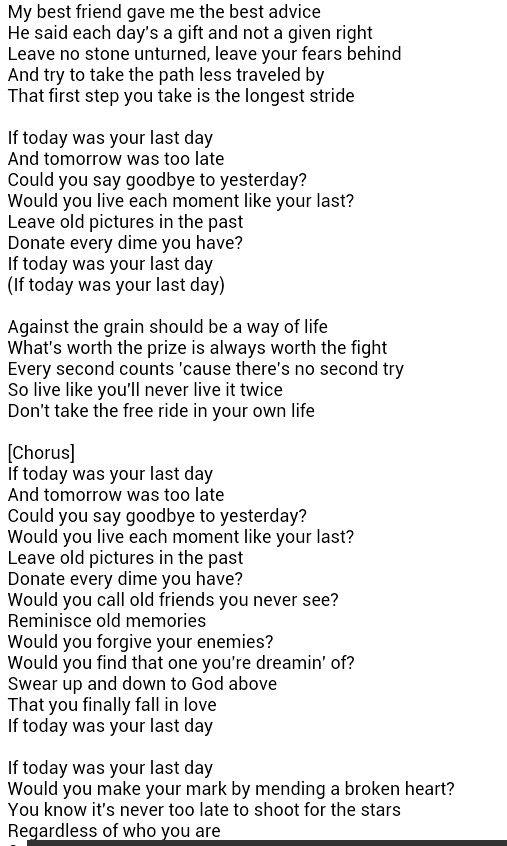Musiq Soulchild - Today Lyrics