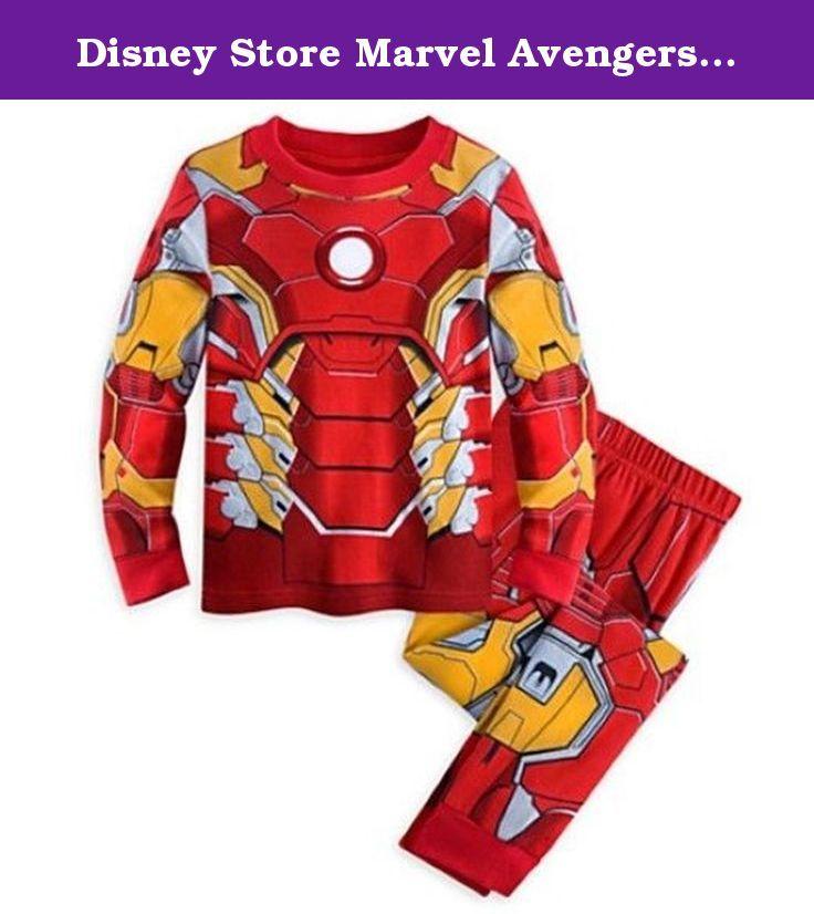 Disney Store Marvel Avengers Iron Man Costume Little Boy 2PC Long Sleeve Pajama Set (6). Disney Store Marvel Avengers Iron Man Costume Little Boy 2PC Long Sleeve Pajama Set.