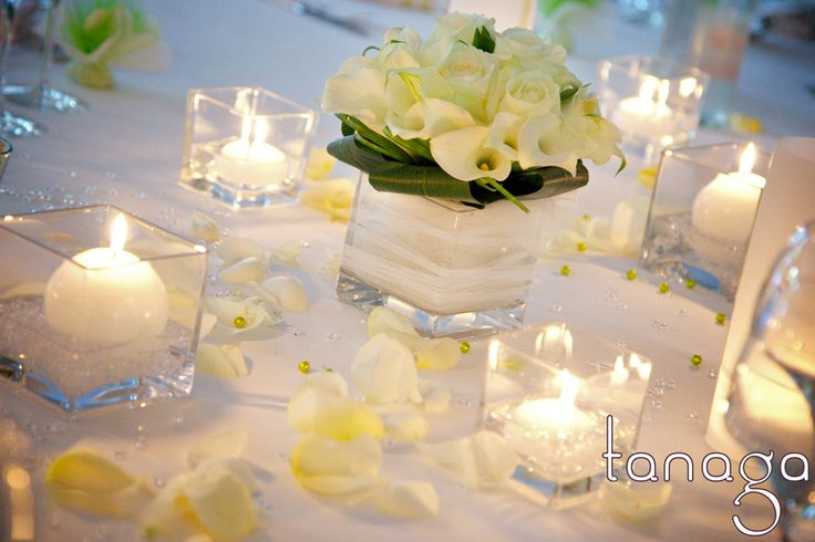 Centre de table mariage by Tanaga ambiance designer  Crédit photo : http://www.somelet.fr/