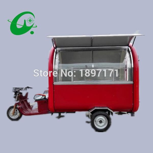 Customizable high quality mobile fast food cart chinsese cheaper BBQ trailer for sale