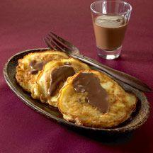 Crêpes de manzana con salsa de chocolate (03/03/13)