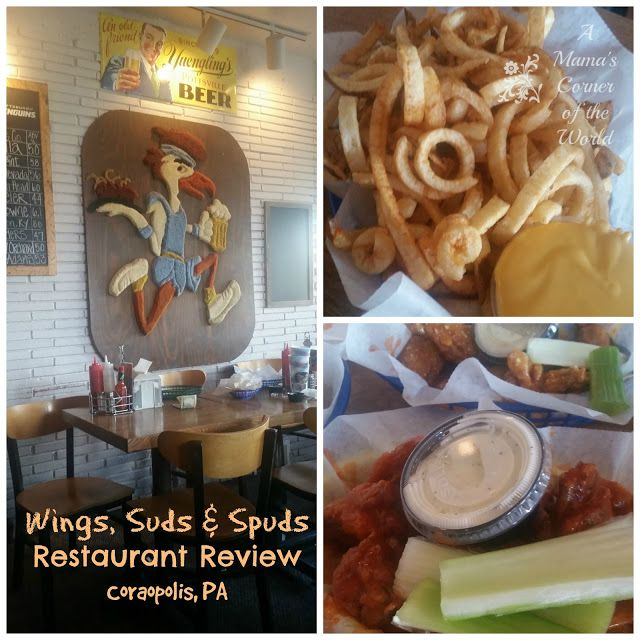 #RestaurantReview: Wings Suds and Spuds in Moon Township, PA #Pittsburgh #familytravel ~ A Mama's Corner of the World