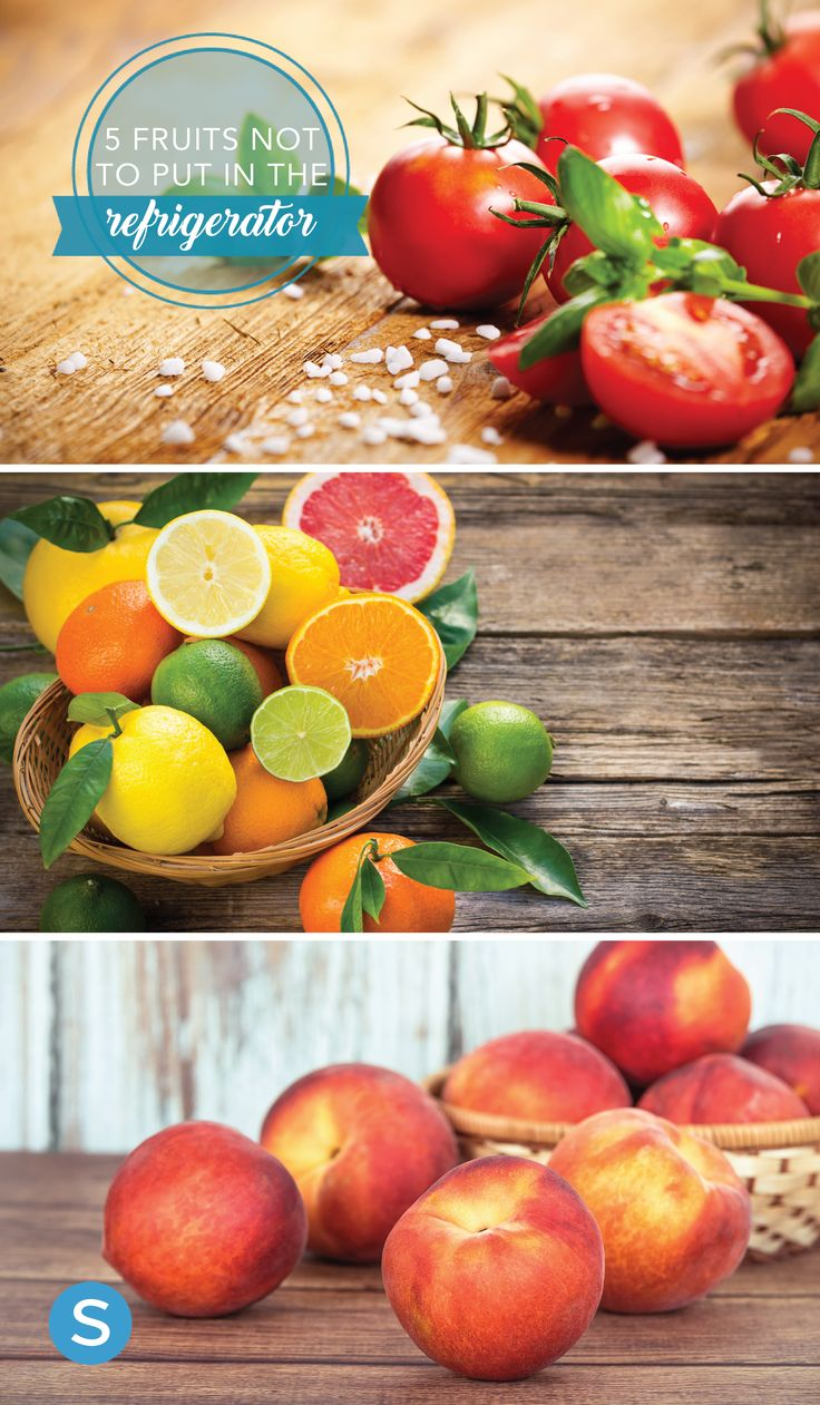 Summer fruits to keep out of the fridge. http://simplemost.com/5-fruits-you-shouldnt-refrigerate?utm_campaign=social-account&utm_source=pinterest.com&utm_medium=organic&utm_content=pin-description