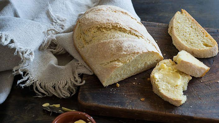 Corn bread (Giovanna and Antonio's Pane di Granturco)