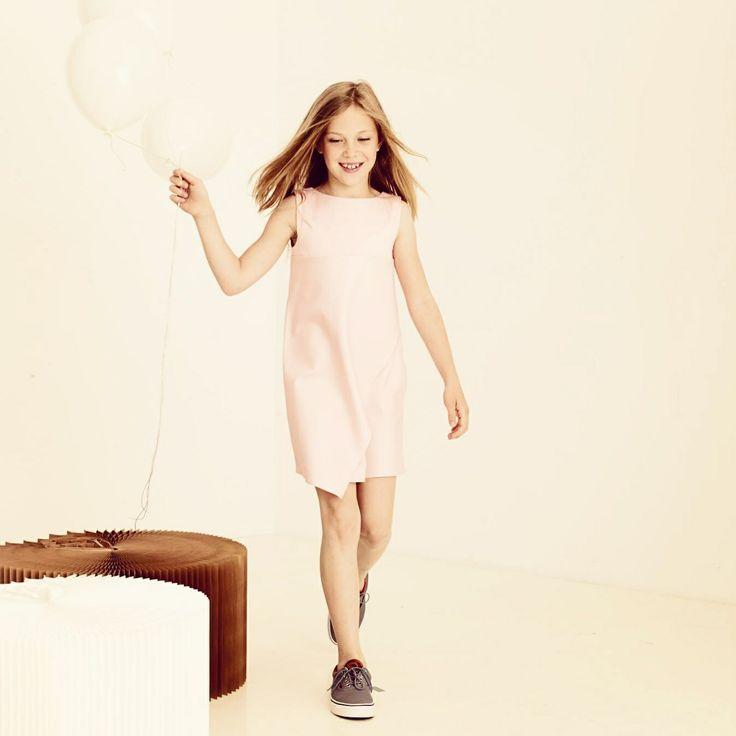 Pink dress kids MALI fashion