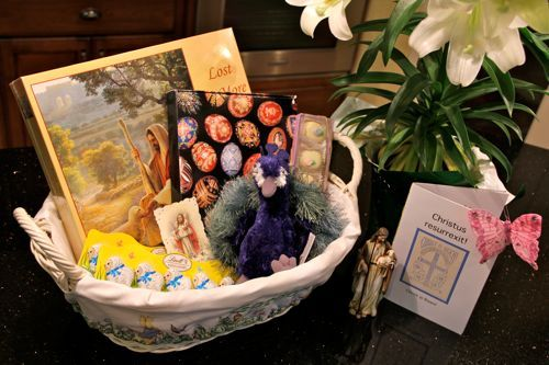 Shower of Roses: Easter Symbols {An Easter Basket for the Whole Family}