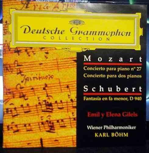 #Mozart Conc.piano 27 - #Schubert, Fantasía En Fa Menor $80