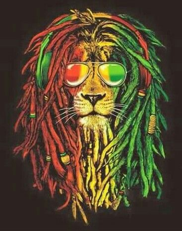Rasta Lion❤ this is so spooky in a good way, my son Dale is a Leo his favourite colours are green, gold and red, his hair is long and he doesn't comb it.