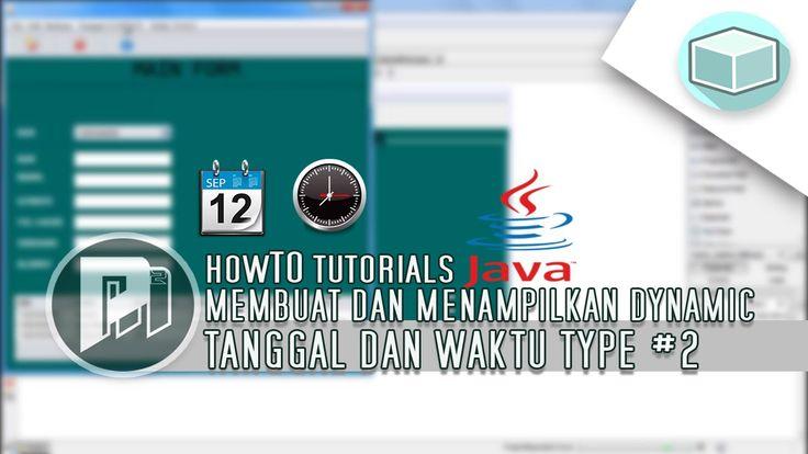 Program Java Netbeans - Menampilkan Tanggal(Date) dan Waktu(Time) Secara Dinamis#2