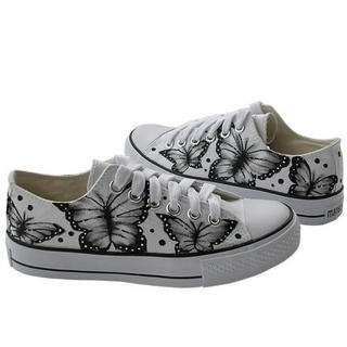 YESSTYLE: Maner- Painted Sneakers - Free International Shipping on orders over $150 - StyleSays
